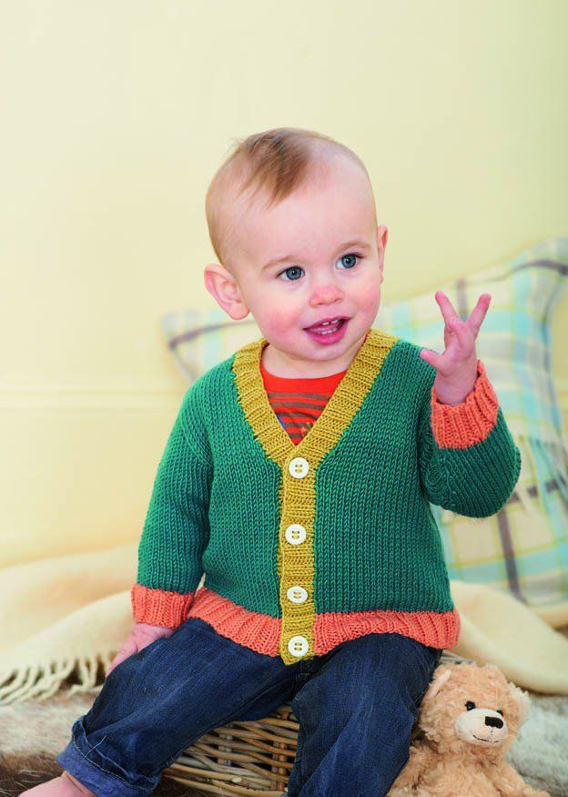Cardigan and Waistcoat in Sirdar Snuggly Baby Bamboo DK ...