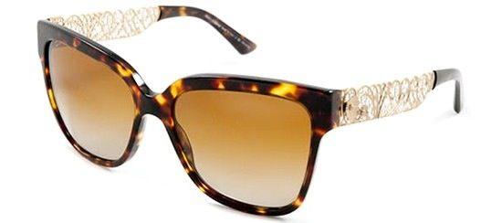 Occhiale Dolce e Gabbana con asta in filigrana disponibile sul sito www.otticamangano.com http://www.otticamangano.com/occhiale-da-sole-dolce-e-gabbana-4212.html