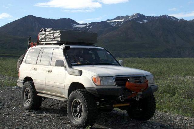 Toyota Land Cruiser Expedition Vehicle
