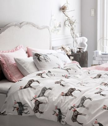 H M Home Yo It S A Stag Bedroom Decor Deer Bedding