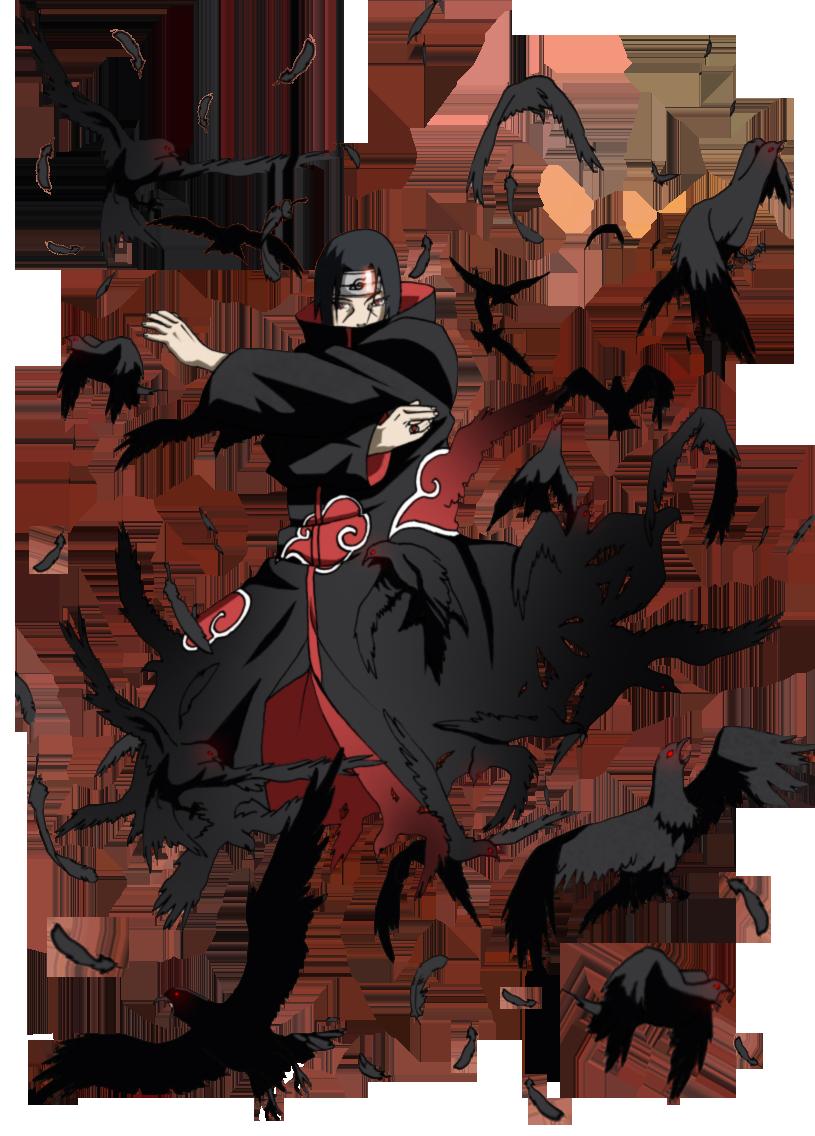 Hasil gambar untuk Itachi Uchiha Genjutsu