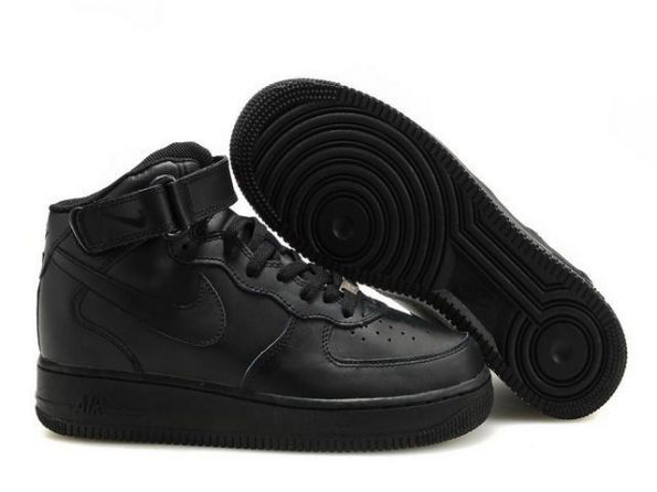 nike air force 1 high femme noir