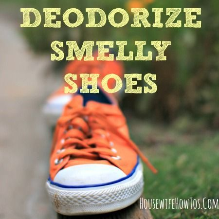 016b4055b Want to know how to deodorize smelly shoes without ruining them  These four  tips will get your shoes smelling as fresh as the day you bought them.