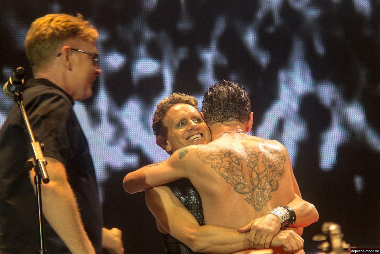 Depeche Mode in Budapest 2013