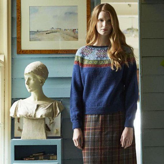 04e18f677128 Sweater knitting pattern Wren designd by Marie by CollieCraft1 ...