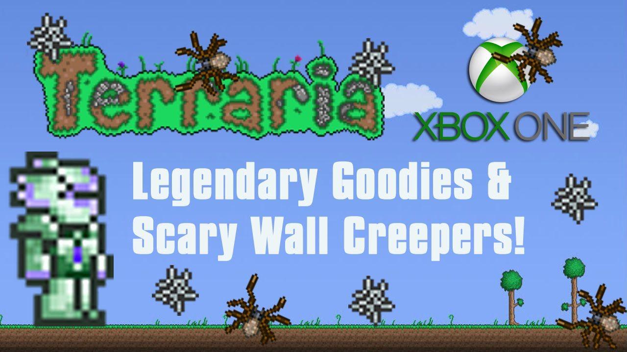 Terraria Xbox One Legendary Goodies Wall Creeper Lair 6 Xbox One Creepers Terrarium