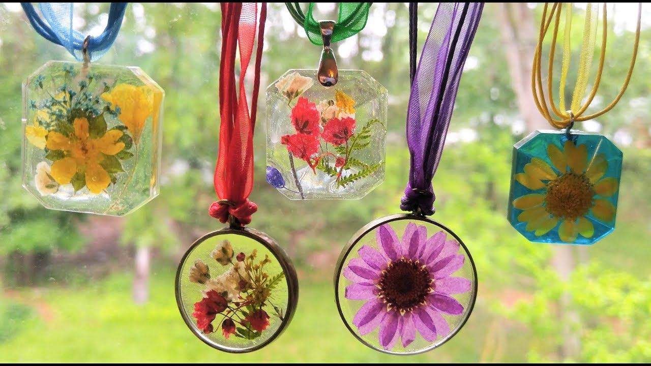 62 Dried Flower Resin Jewelry, A Beginner's Guide From