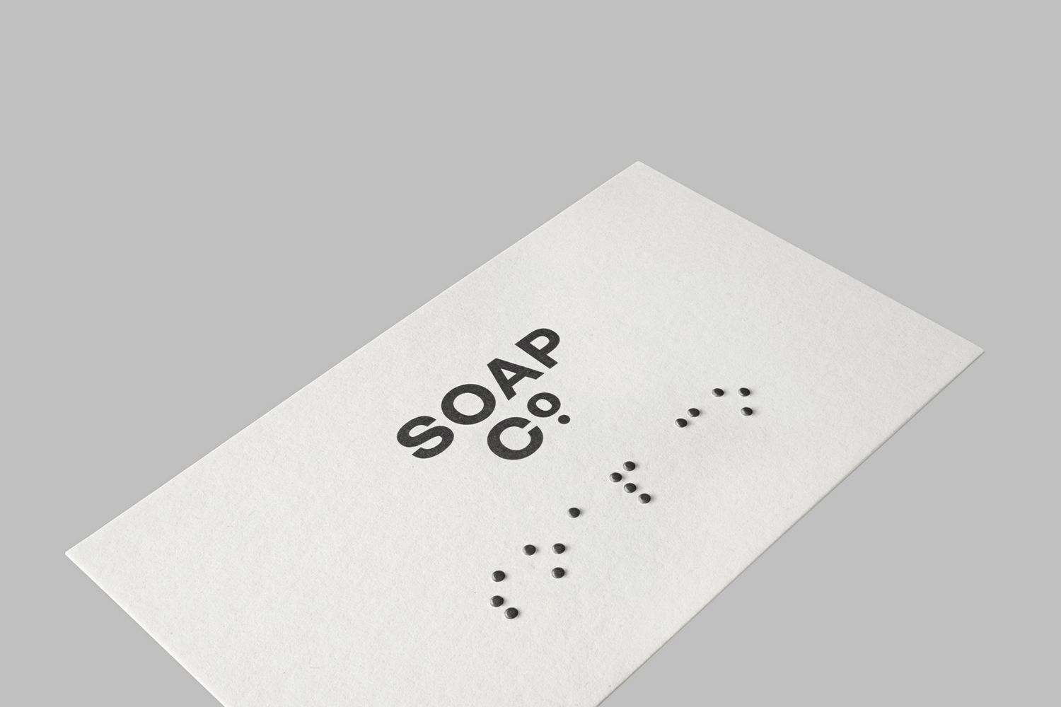 New Brand Identity For Soap Co By Paul Belford Bp O Business Card Design Inspiration Soap Business Card Design