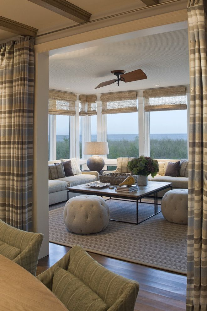 Home Additions Sunroom Decorating Four Seasons Room: Window Treatments For Sunrooms Spaces Contemporary With None
