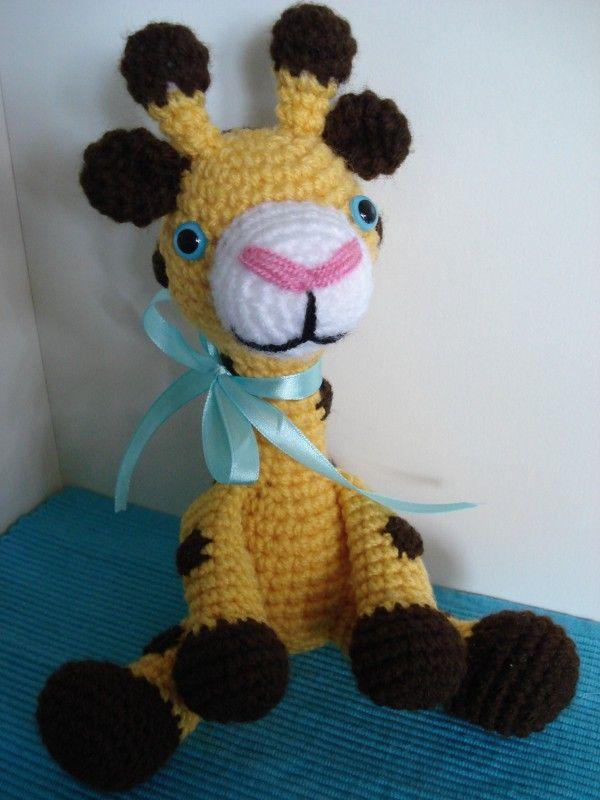 Gina Giraffe - Amigurumi Häkelanleitung | Amigurumi | Pinterest ...