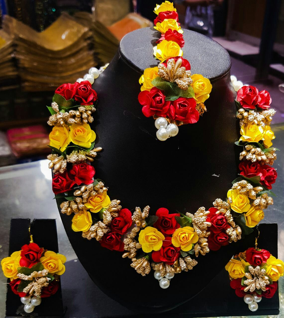 Pin by kajal Harish on design of jewllery Fresh flower