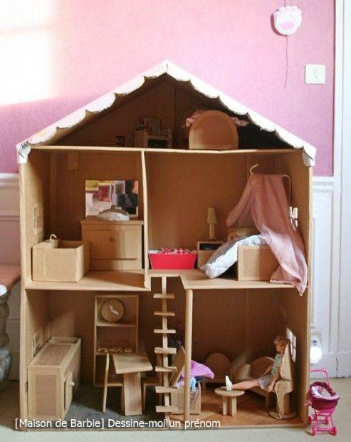 tutoriel-maison-barbie-DIY-dessine-moi-un-prenom maison de poupee
