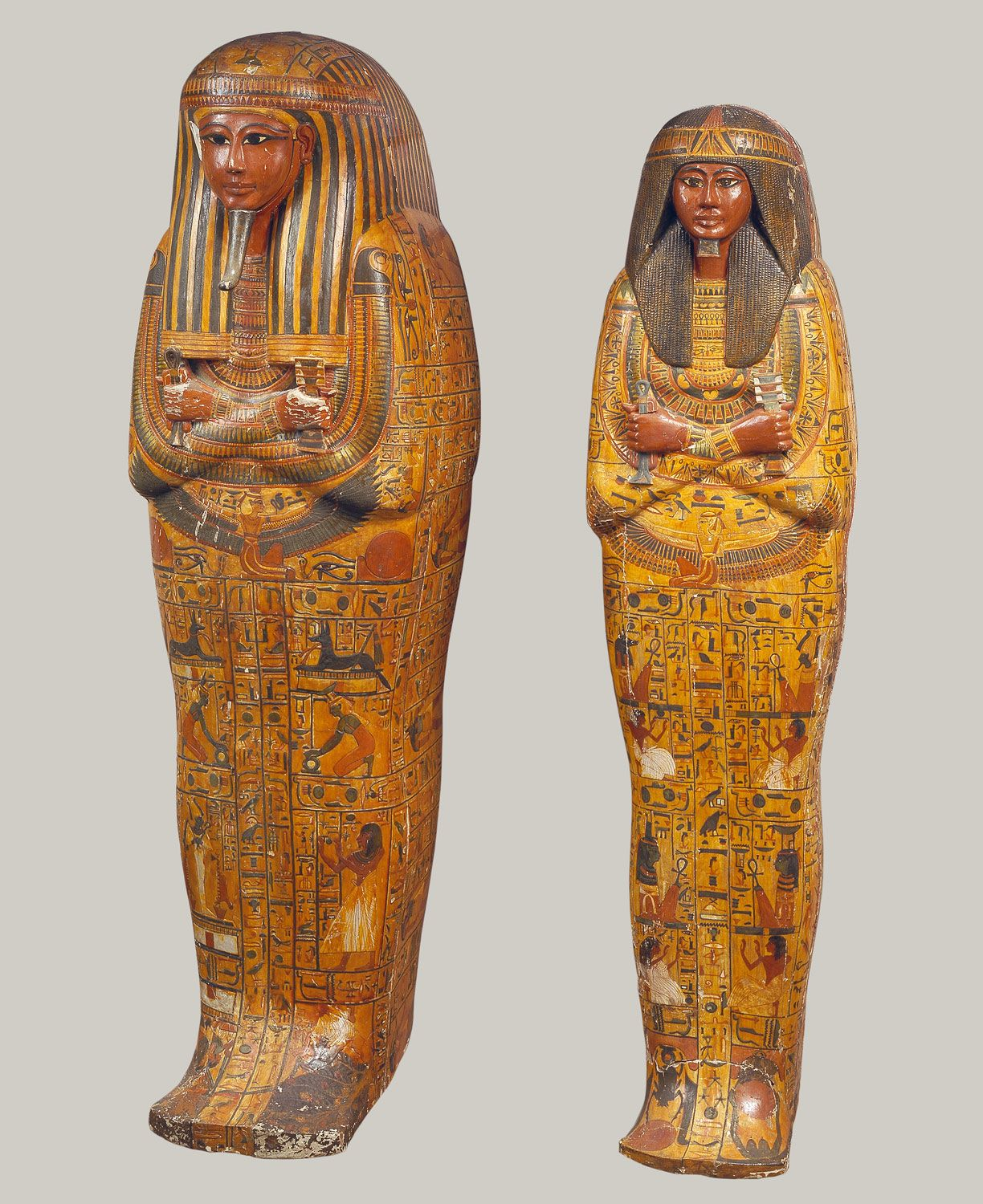khonsu s anthropoid coffins period new kingdom ramesside dynasty khonsu s anthropoid coffins period new kingdom ramesside dynasty dynasty