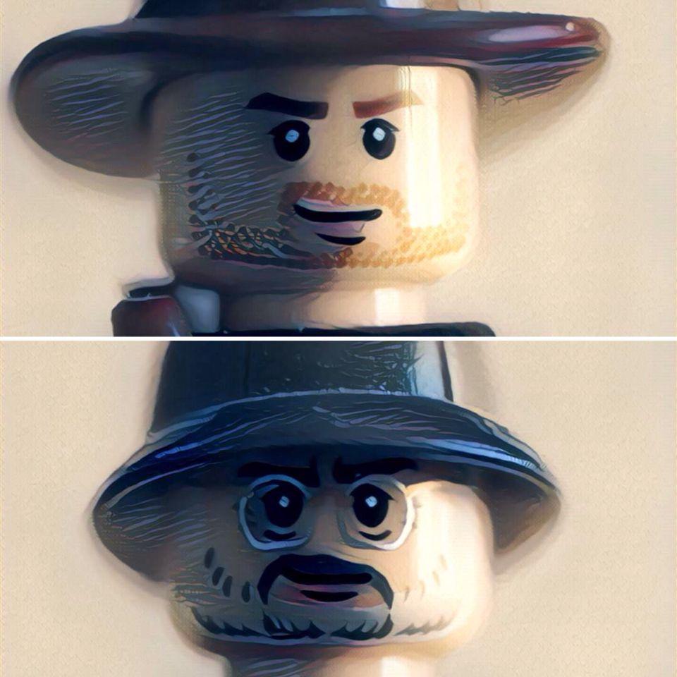 Lego version... da da da dah!