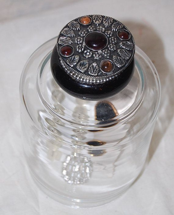 Vintage Perfume Top Glass Display Cloche by PenelopesTreasures, $15.00
