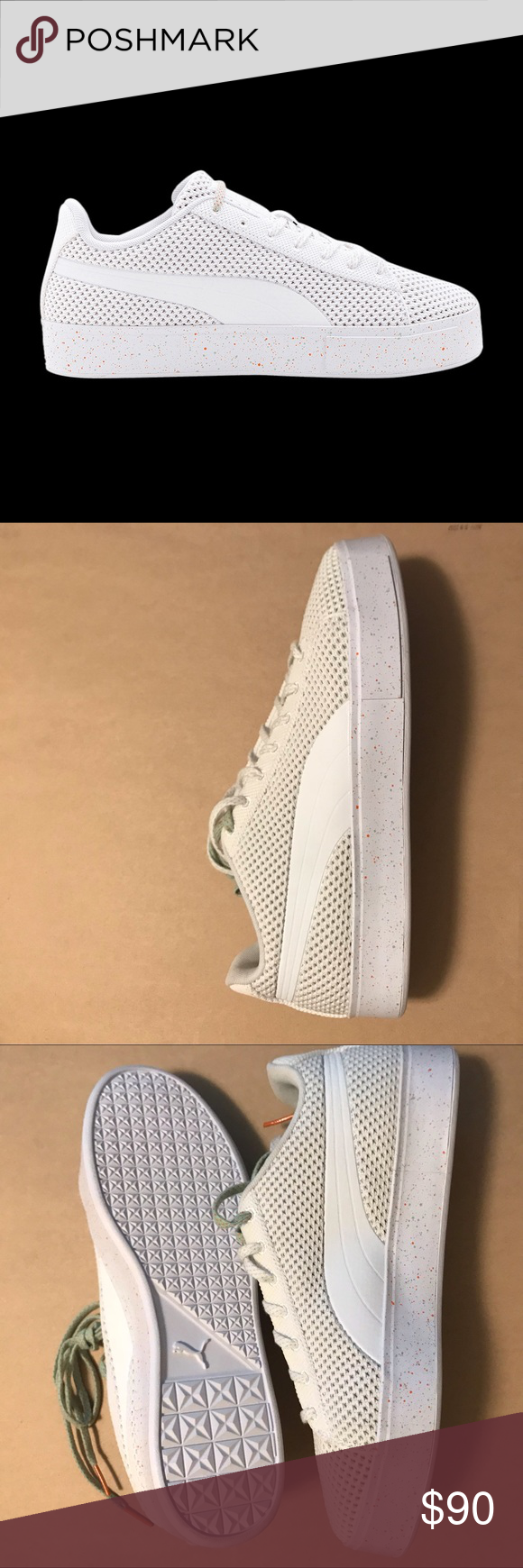 7cb68e68edf459 Puma X Daily Paper men New Brand new Puma Daily Paper Court Platform  Knitsplat Fashion sneakers Size 11 men Never been used send an offer Puma  Shoes ...