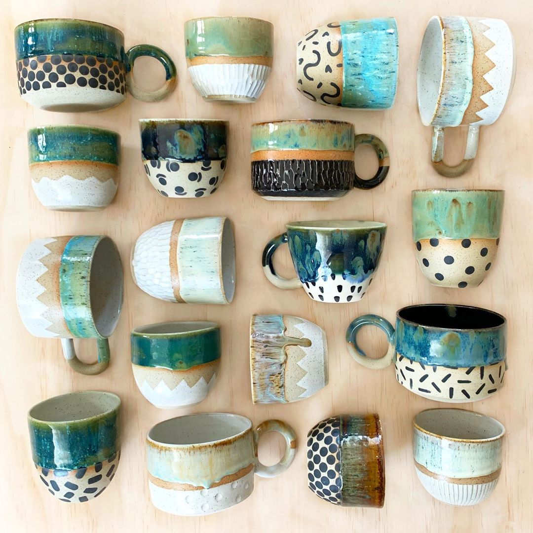The Final Glaze Firing Is Underway For The Upcoming Release And Its Almost Time To Shoot All Of The Pieces Slab Ceramics Handmade Ceramics Handmade Pottery