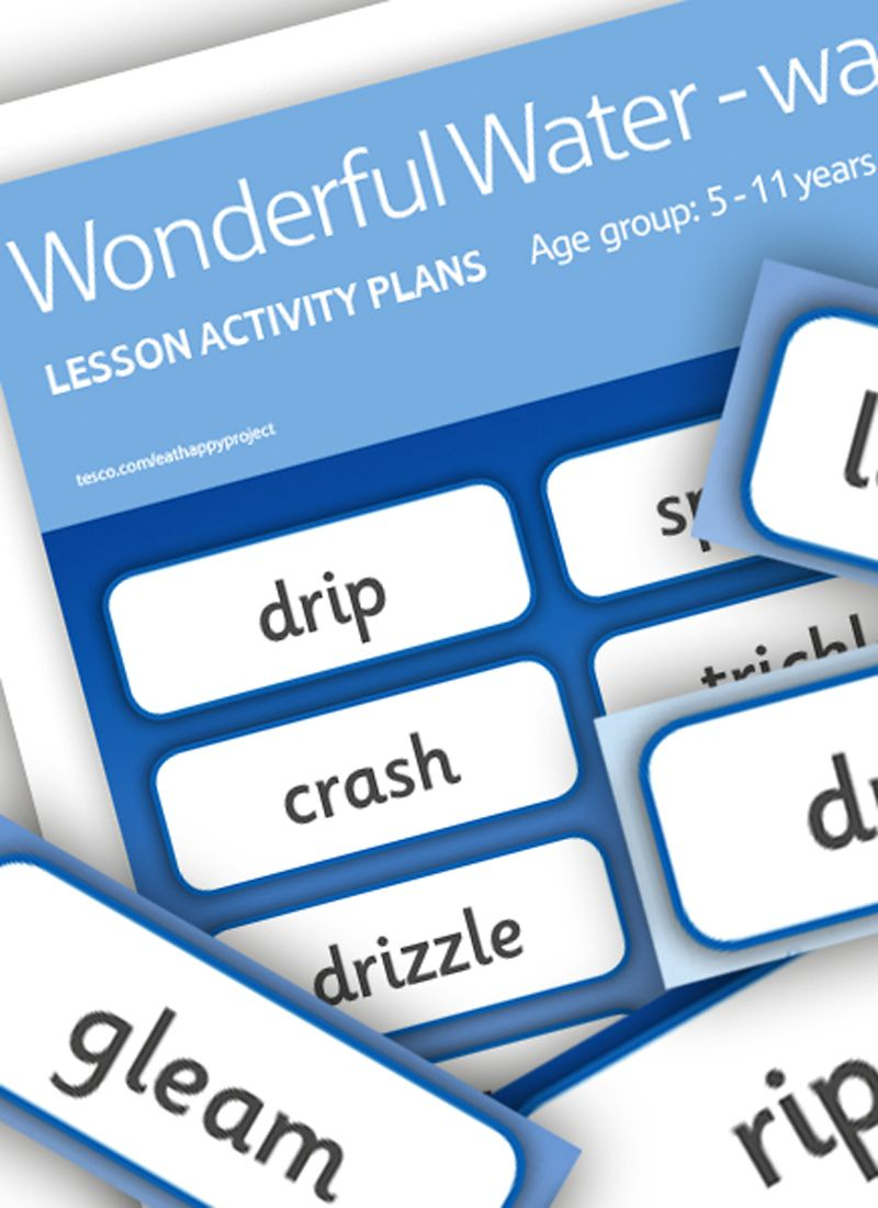 A fun activity where children pick from the words featured on the ...