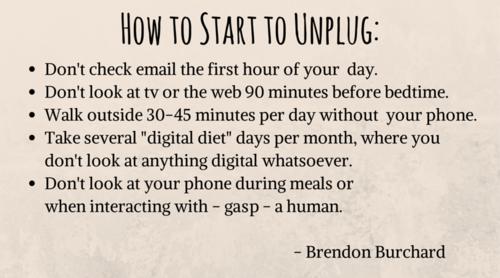 How to Unplug Social media quotes, Social media detox