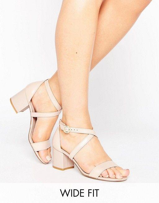 Sandales Avec Sangle Dune Loa Rosa London w2bk1
