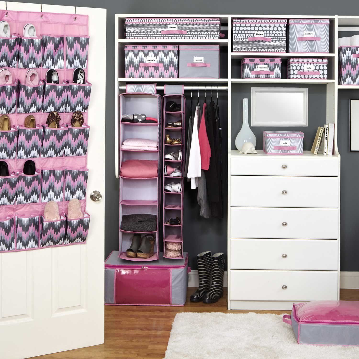 Cute Closest For A Teen Girl. I Think My Niece Would Love This. Organized  ClosetsCloset CollectionTeen Bedroom LayoutBedroom Design ...