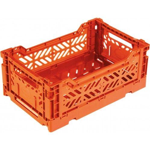 Popcorn Cagette Surplus Mini Orange Casier Rangement Cagette Rangement Plastique