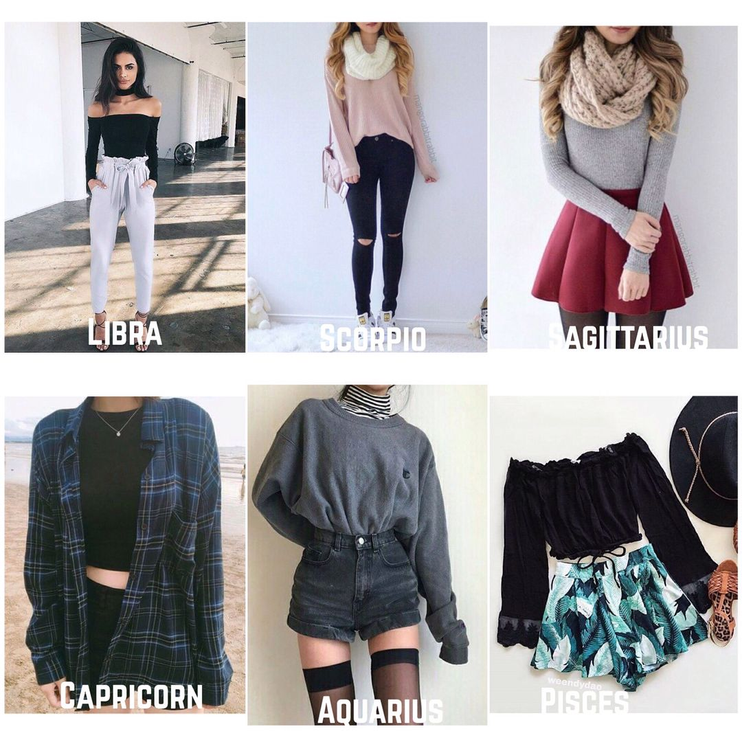 Signs As Outfits Male Female Horoscope Zodiacs Astrology Zodiac Zodiac Signs