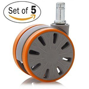 Office Chair Casters Safe For Hardwood And Tile Floor Change Your