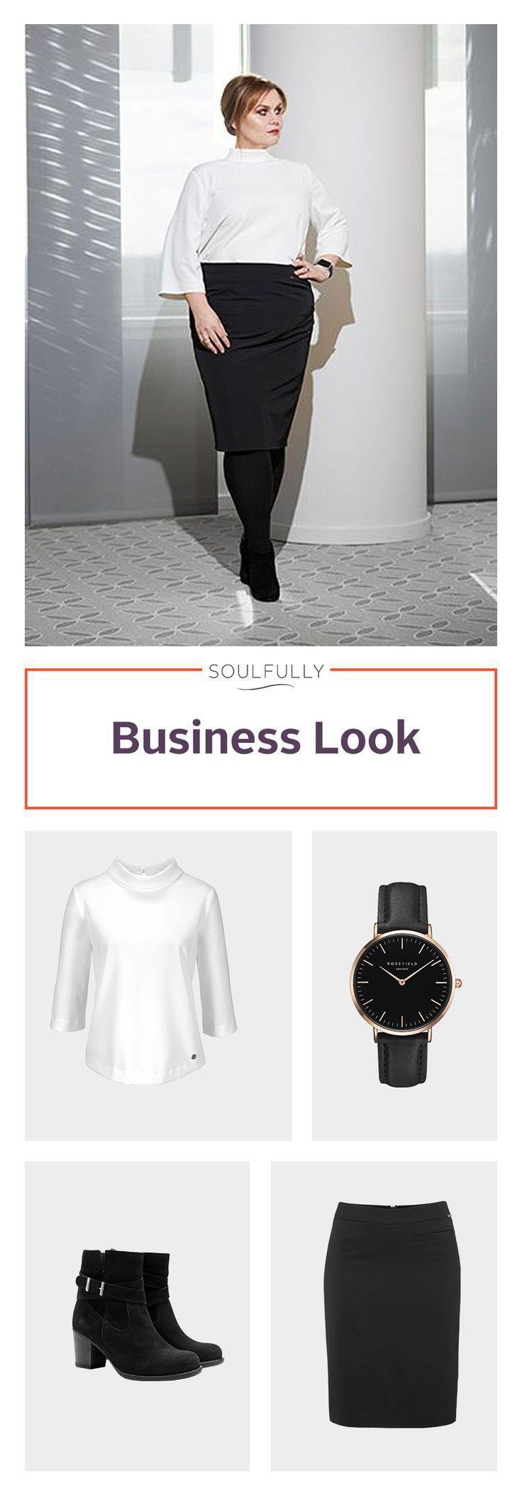 Business Look für Plus-Size Frauen, Outfits für das Büro #plussize #plussizef