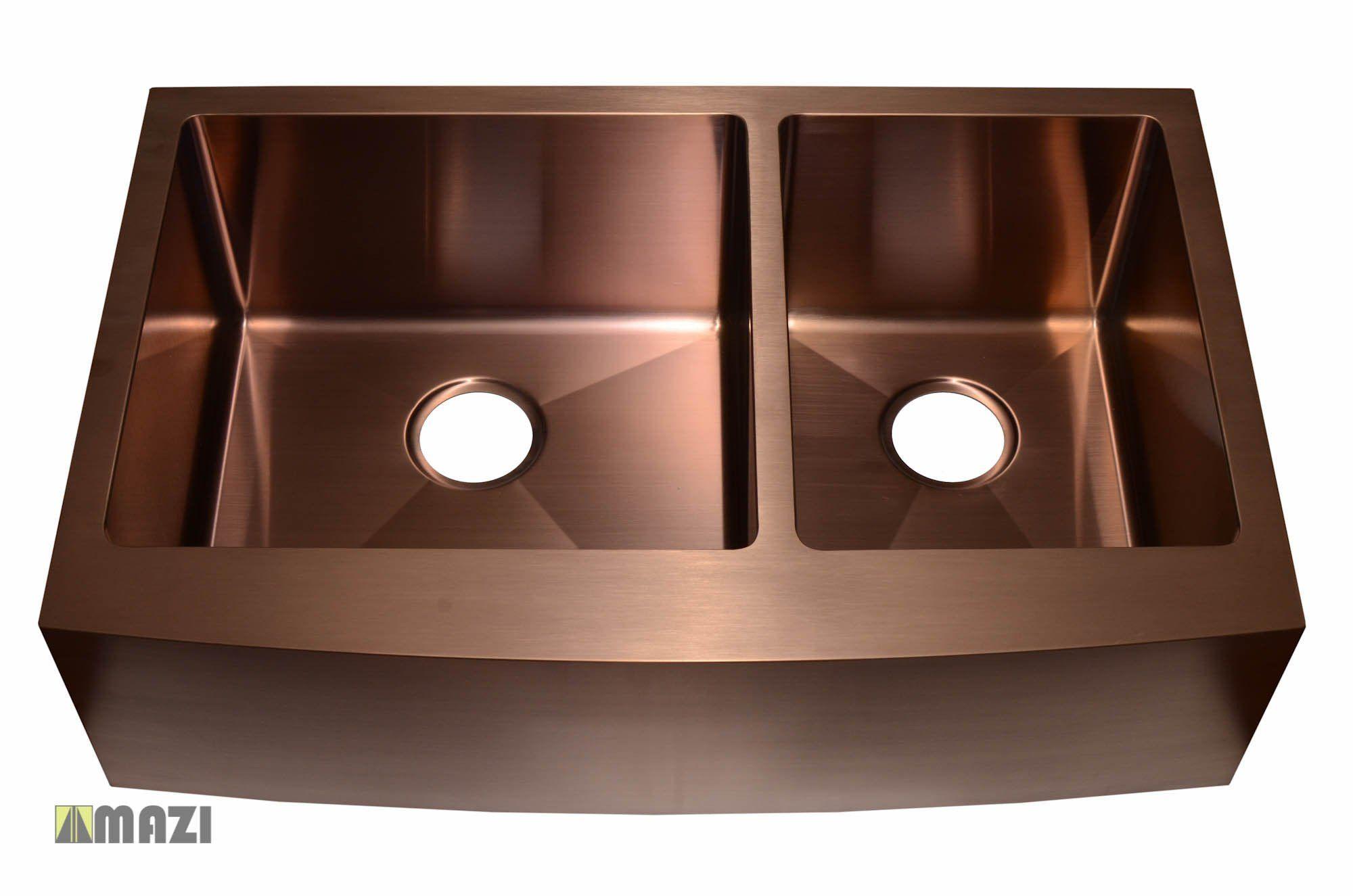 Kitchen Sink Ac2002 Copper Color