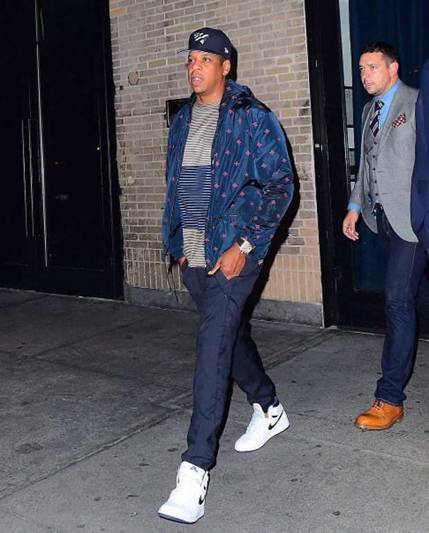 Jay Z in the Air Jordan 1
