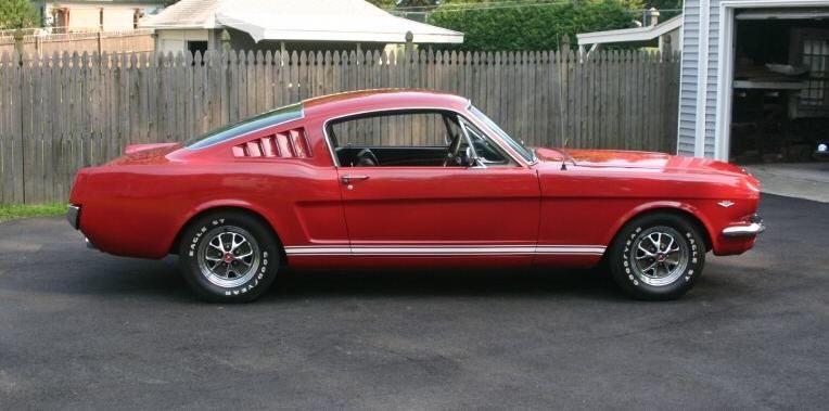 Rangoon Red 1965 Mustang Fastback 1965 Mustang Mustang Fastback Red Mustang