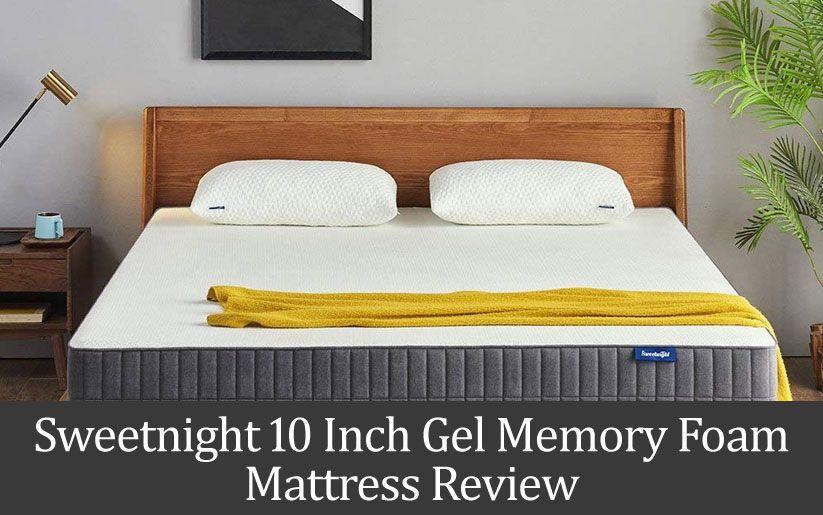 Sweetnight 10 Gel Memory Foam Mattress Review Memory Foam