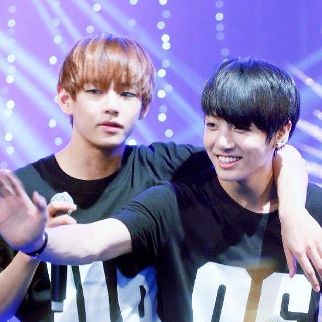 Jungkook: Hi~ Hello~  V: B#*$& he's mine!