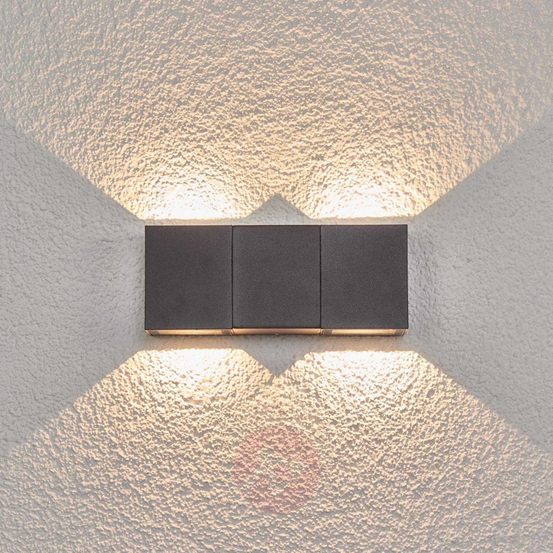 Acquista Applique da esterno a LED Jani a 4 luci Lampade