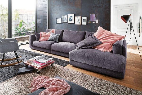 Ole Gunderson Polsterecke LASSE Stoffbezug Dunkelgrau #Sofa #Wohnzimmer  #Wohnzimmerideen