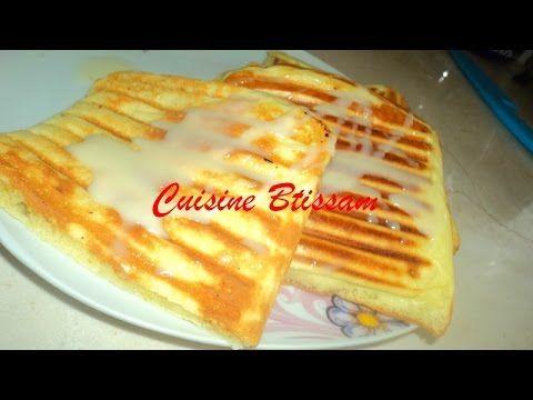 بان كيك في الة البانيني من مطبخ ابتسام Cuisine Cake Tarte
