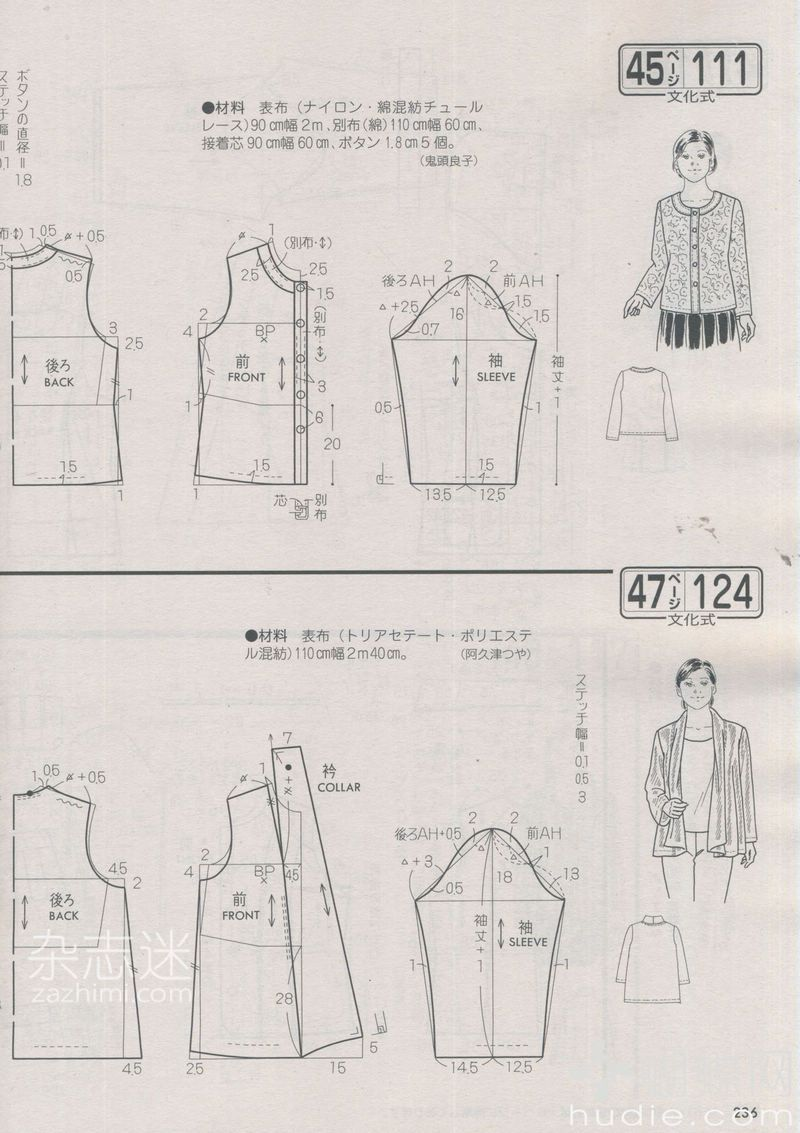 for cardigan style. Lady boutique 03-13 | Aprender a coser ...