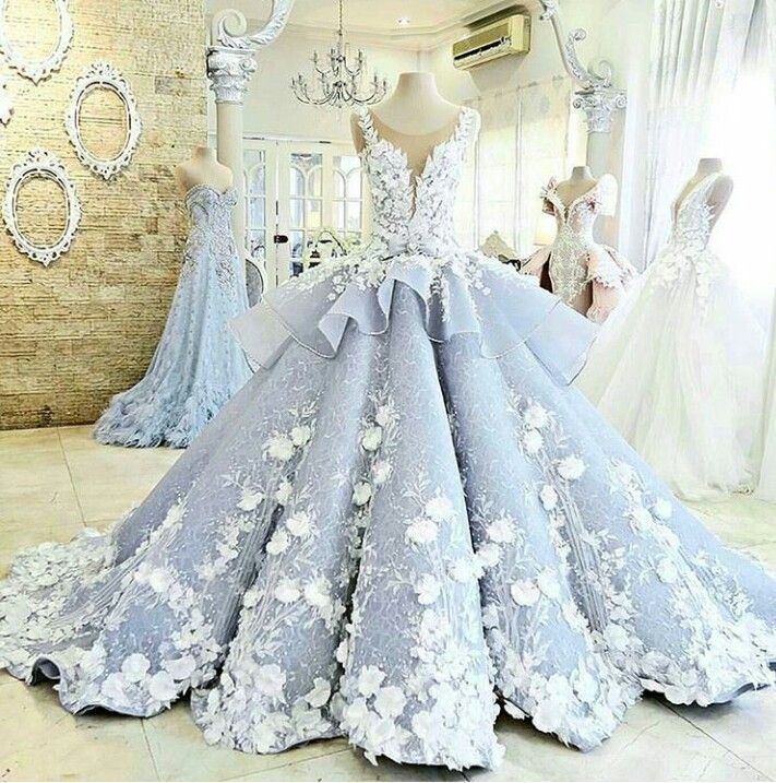 Wedding Dress. This is like something you would wear in a Disney movie while Swan Lake plays in the background