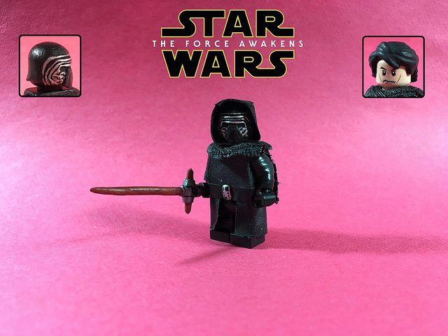 Lego Star Wars The Force Awakens Kylo Ren Force Awakens Lego