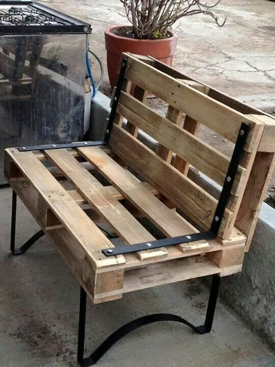 Hermosa silla palets palets y m s palets en 2019 - Palets muebles reciclados ...