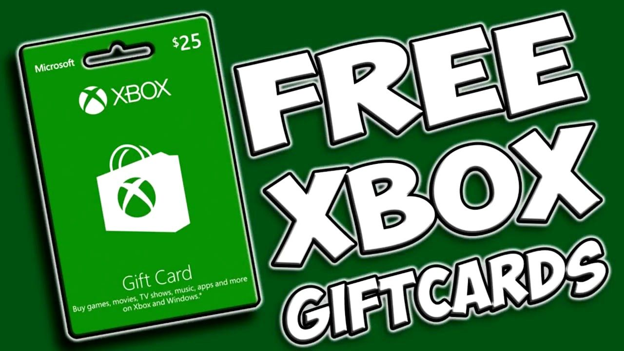 Free xbox gift codes method fast and easy xbox codes