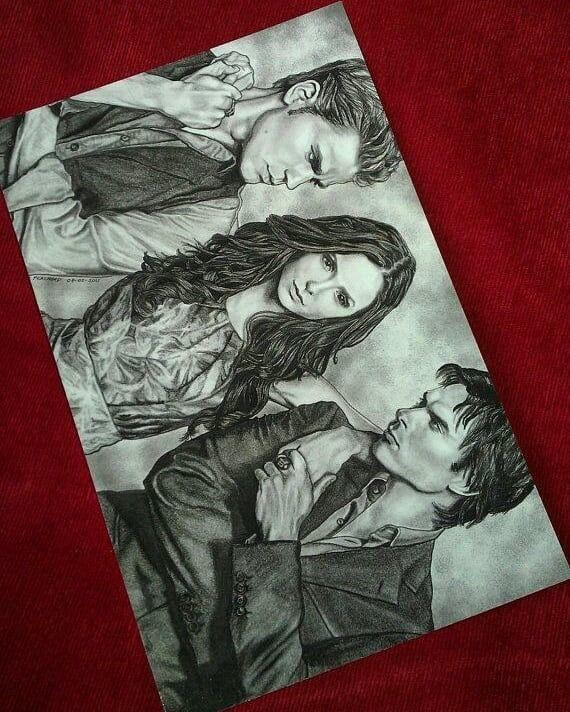 Pin By Wioleta Barbara On The Vamparies Diaries Vampire Diaries Funny Vampire Diaries Vampire Drawings
