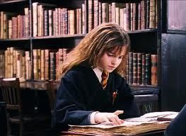 Image result for hermione reading