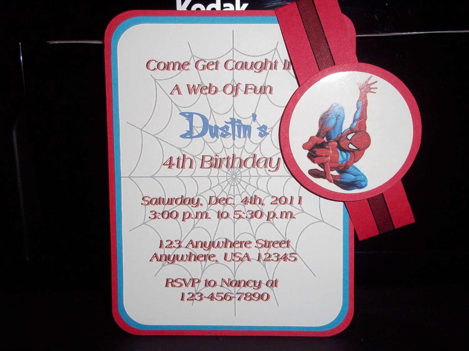 Spiderman birthday invitations inspired by spiderman 1000 via spiderman birthday invitations inspired by spiderman 1000 via etsy filmwisefo
