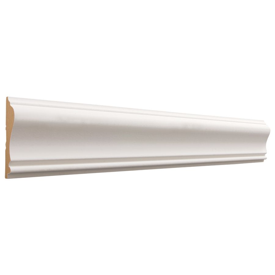 Evertrue 2 5 8 In X 12 Ft Primed Mdf Chair Rail Moulding Actual