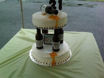 Pleasant 21St Birthday Guy Cake 21St Birthday Honey Funny Birthday Cards Online Aboleapandamsfinfo