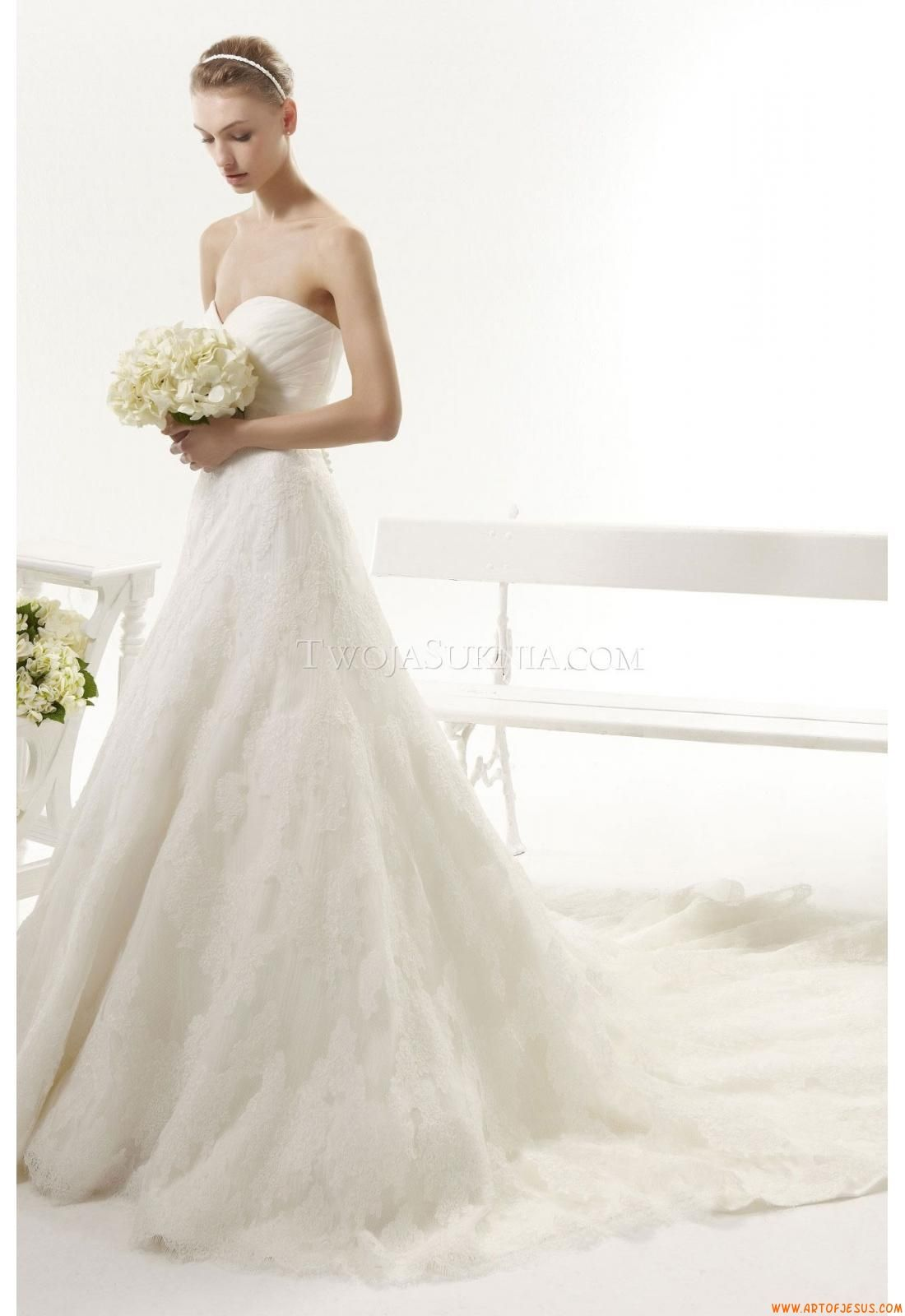 Wedding Dresses Aire Barcelona 114 Yasira Vintage 2014 | Aire ...