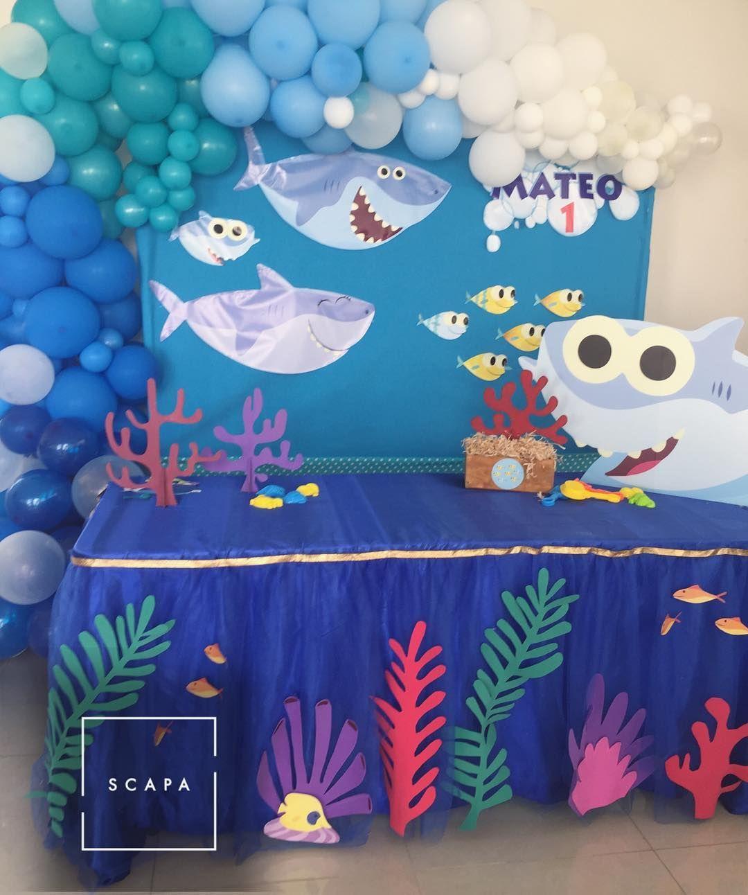 Baby Shark doo doo doo 🎶🦈🎶 scapa scapaeventos candybar
