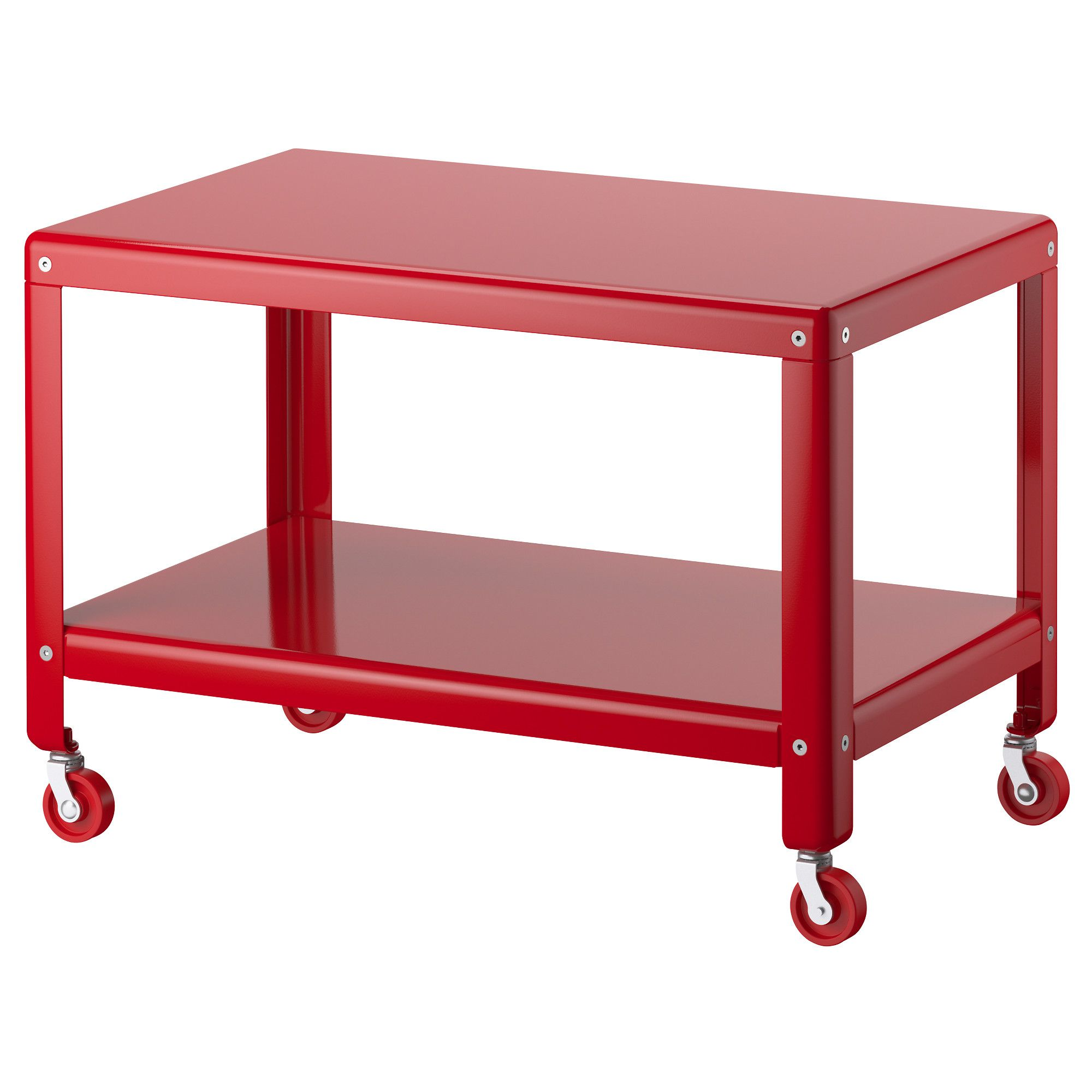 Ikea ikea ps 2012 coffee table red the casters make - Easy to move couch ...